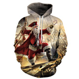 New 3D Hoodies Men Women 2017 Winter Funny Christmas Dog Snow Printed Hoodie Pullover Casual Hip Hop Hipster Mens Tracksuit 3XL