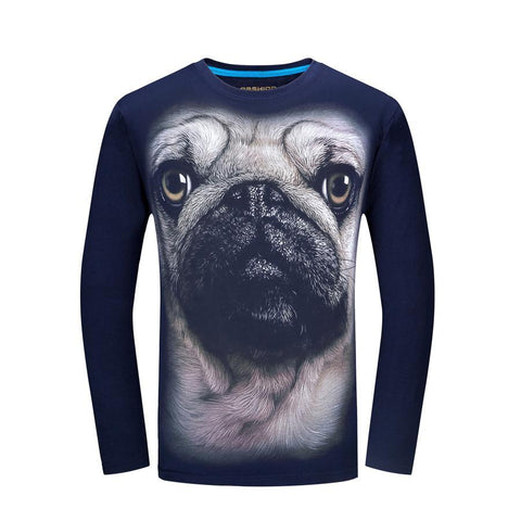 Pug Long Sleeve T