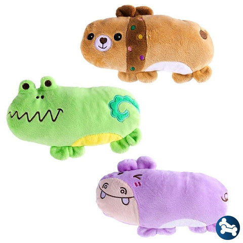 3 Pack Godog Bugs Chew Guard Animal Dog Toy