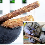 natural catnip pet cat molar Toothpaste Chew