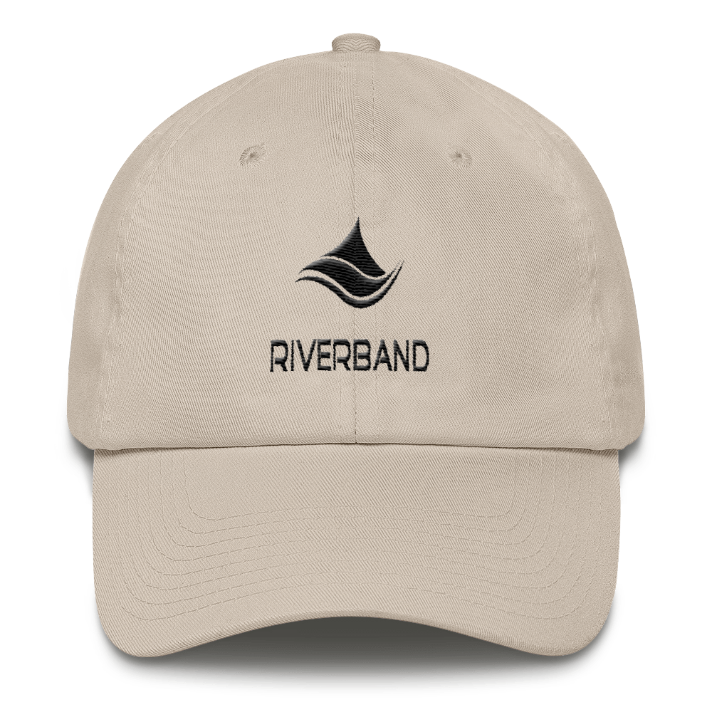 Riverband® Black Logo Dad Hat