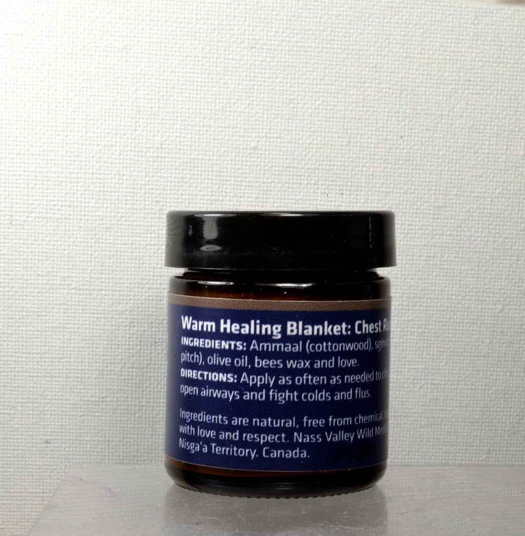 Warm Healing Blanket: Soothing Chest Rub