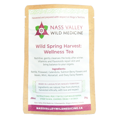 Wild Spring Harvest: Berry and Leaf Wellness Tea