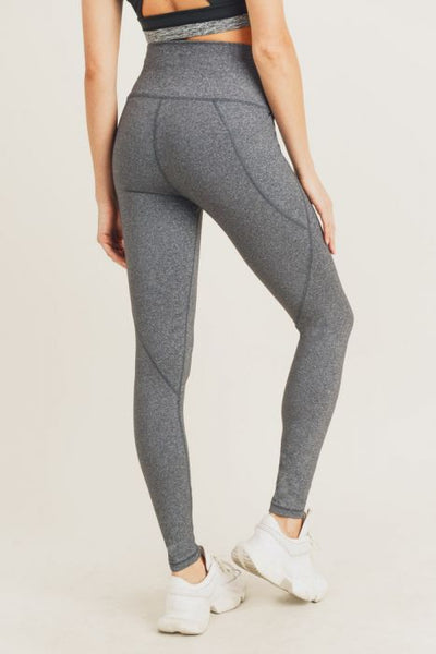 Tapered Band Essential Leggings