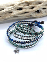 Sea Swells Wrap | Beaded Wrap Bracelet