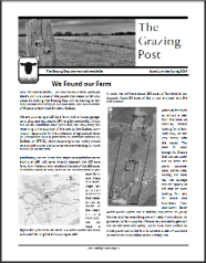 Grazing Post Issue 1