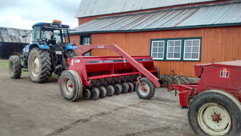 Seed drills to seed pastures