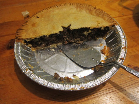 half a tourtière from Grazing Days