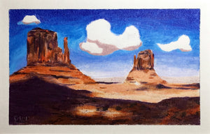 Monument Valley, Shadow of Clouds (original)
