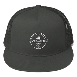 Logo Mesh Back Snapback - the selfish conservationist