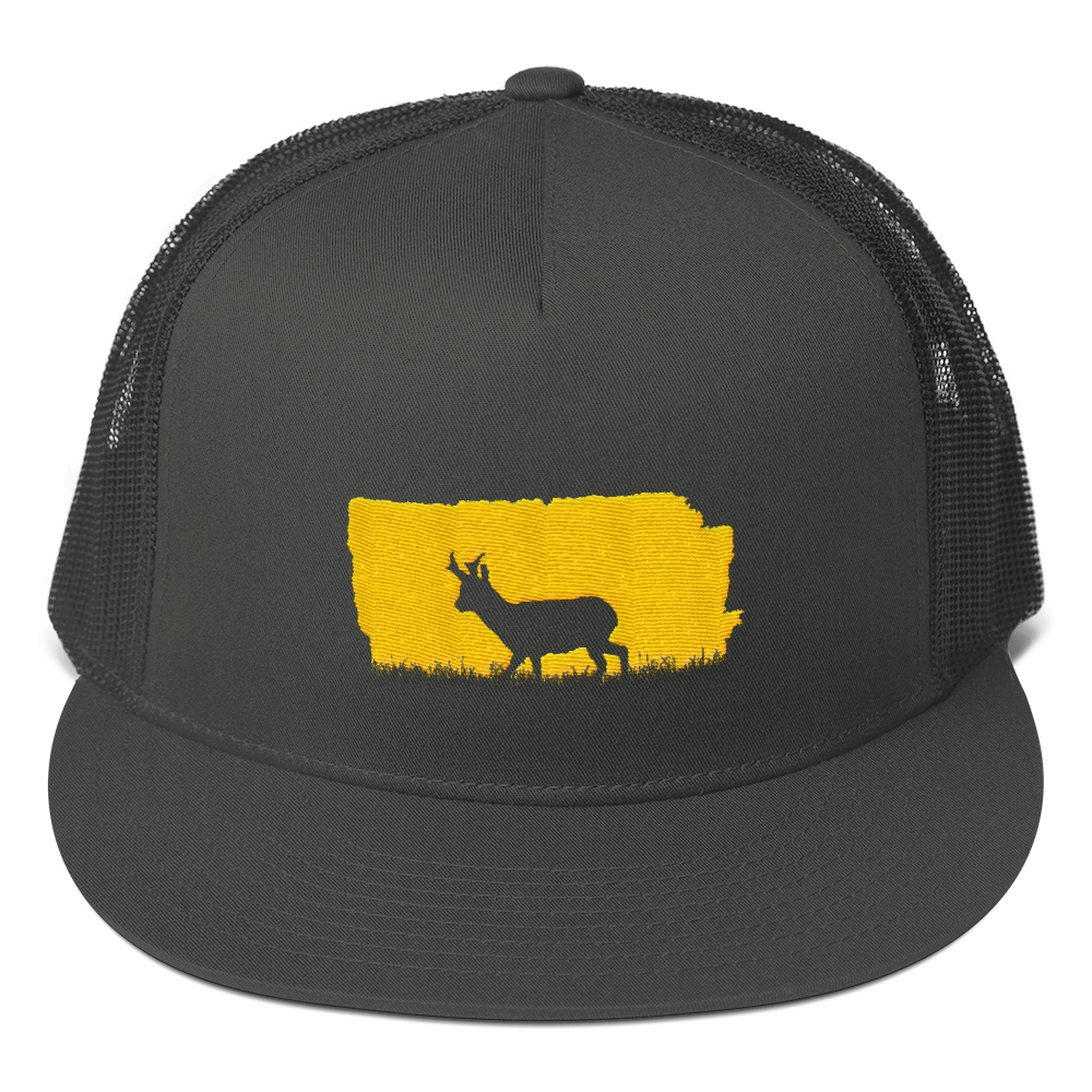 Pronghorn Buck Mesh Back Snapback - the selfish conservationist