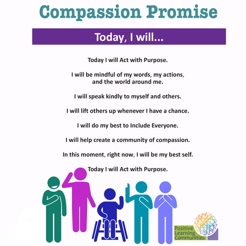 Compassion Promise Poster