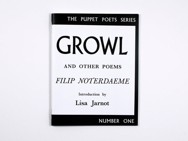 Filip Noterdaeme: GROWL