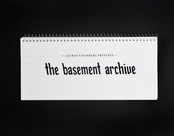 Lauren Steinberg: The Basement Archive