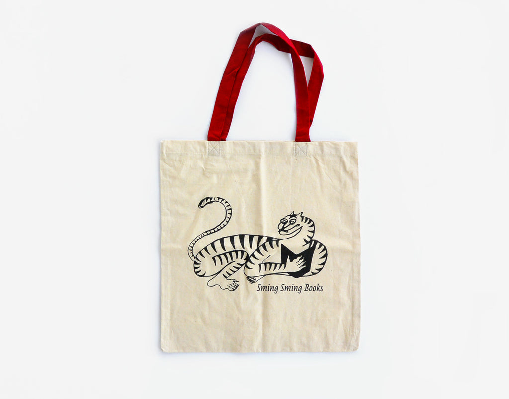 Sming Sming Books Tote Bag