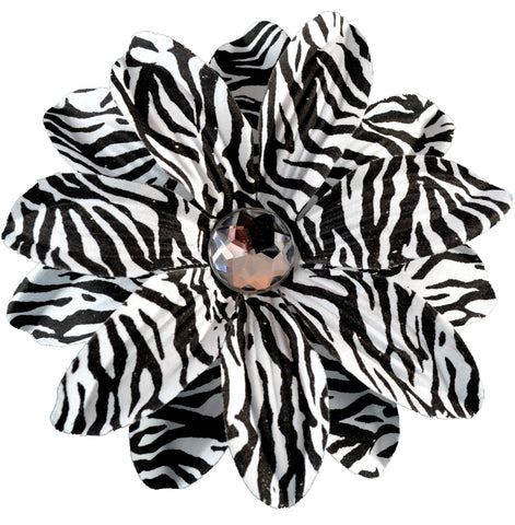 Fobbz, Bling Flower - Zebra