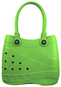Optari - Sol Tote - Green, Large