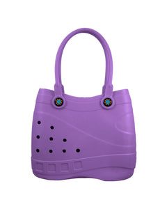 Optari - Sol Tote - Purple, Small