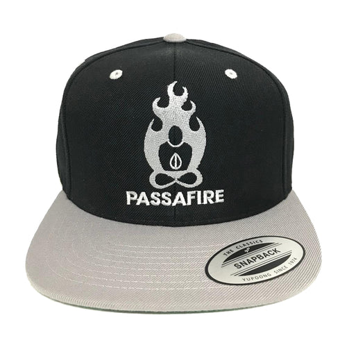 Black and Grey Snap Back