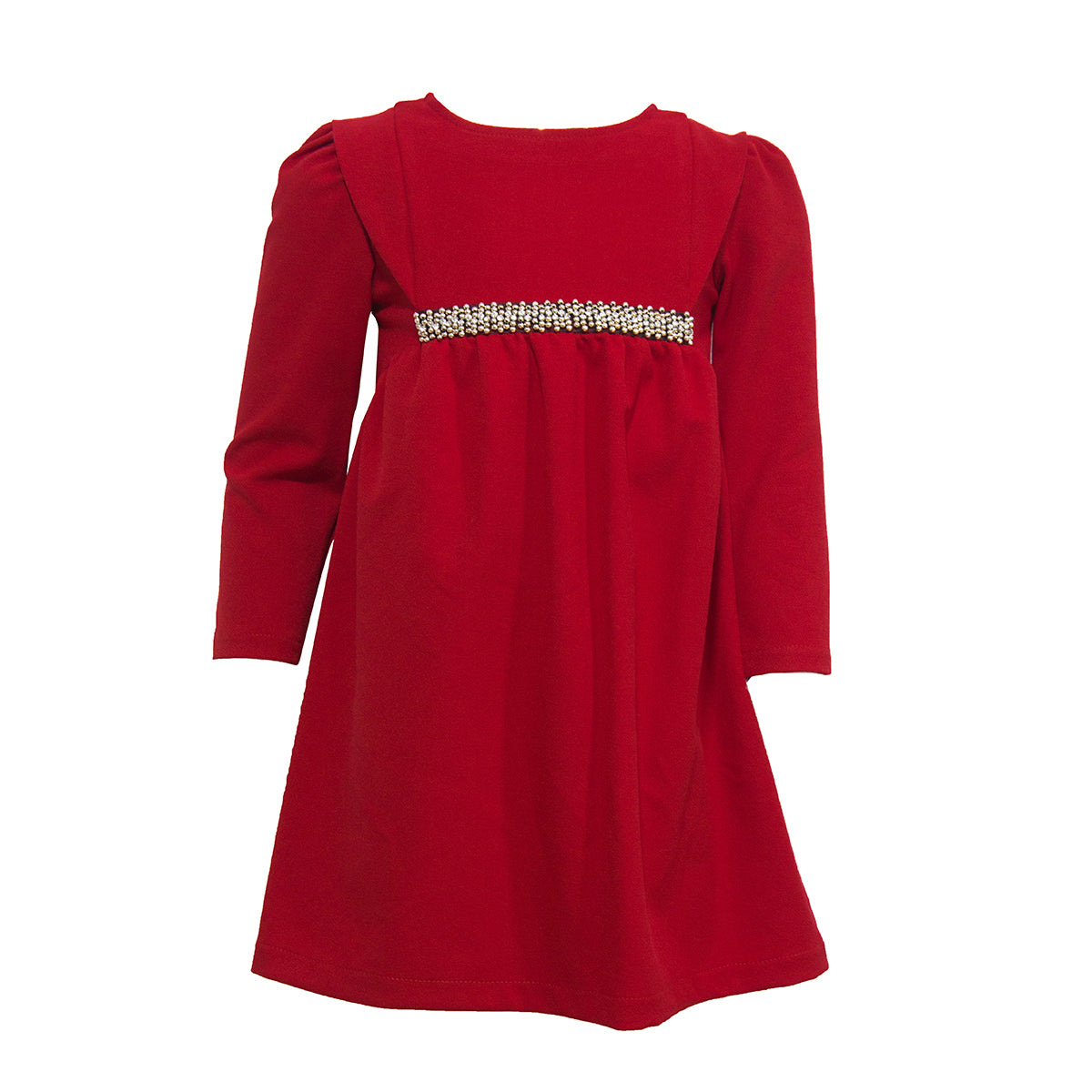 Photo fille robe rouge