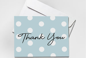 (48 pack) Thank You Cards Set with Envelopes