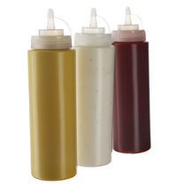 (3 pack) 20 oz. Condiment Bottles