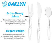 (300 count) Clear Plastic Cutlery