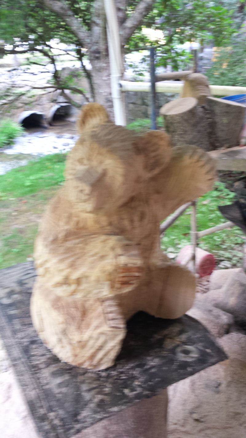Chainsaw Carved Climbing Bear large