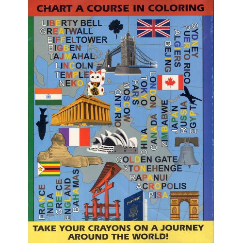 Around The World Coloring Book Easy Mentalism!