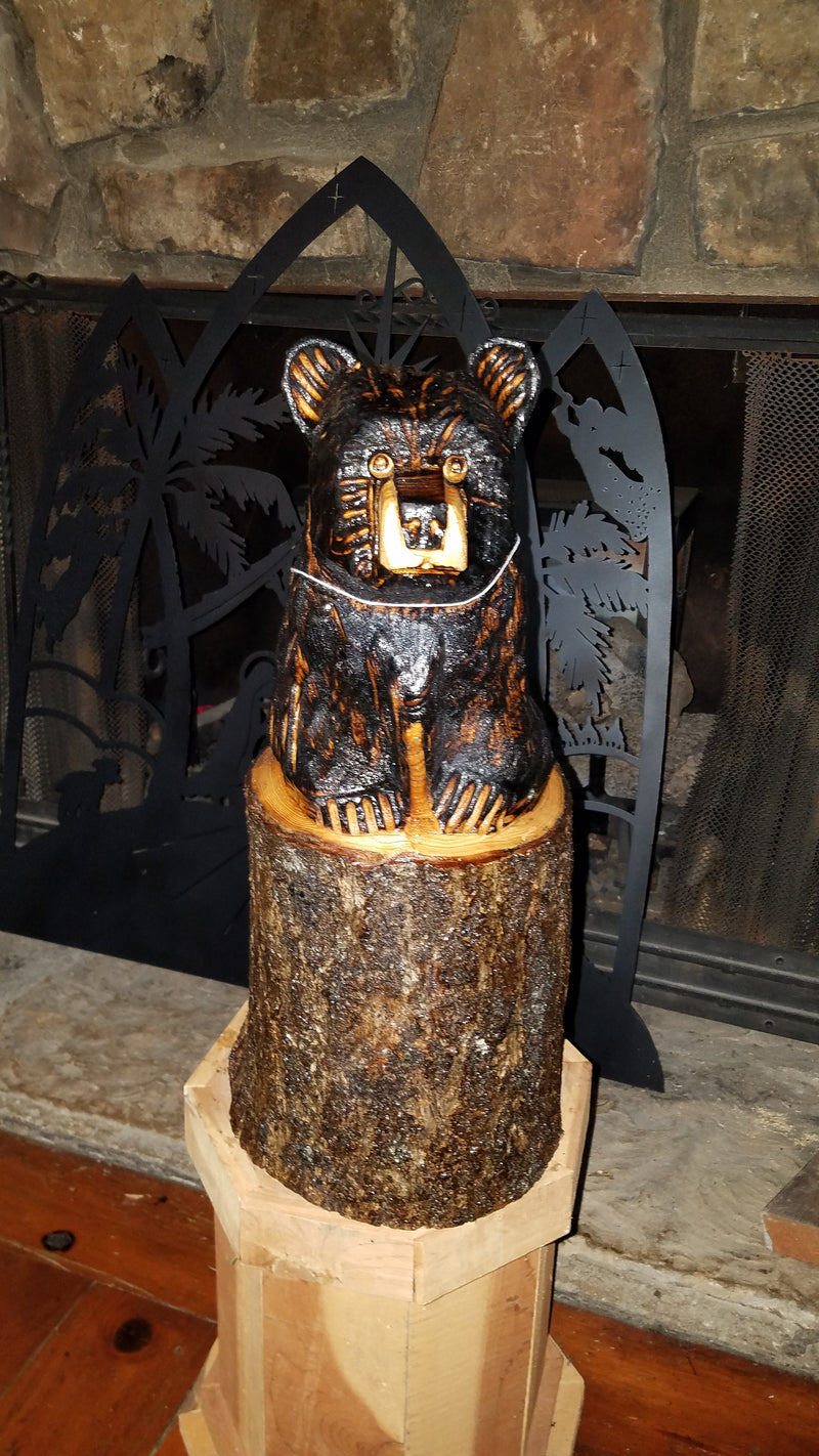 Bear in Stump from Make It Magic