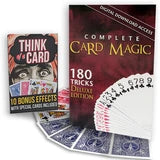Complete Card Magic Digital Download and Streaming Bundle - 170 Card Tricks