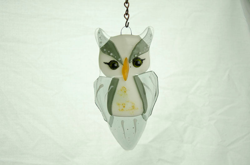 Fused Glass Owl at Make It Magic