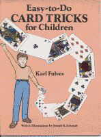Easy to do card tricks for children book