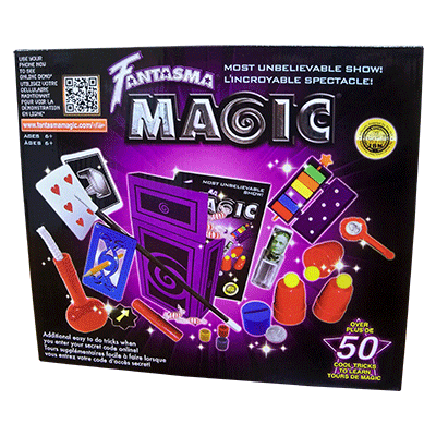 Over 50 Tricks included in the Fantasma Magic Kit