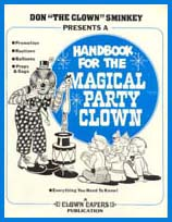 Handbook for the Magical Party Clown Book at Make It Magic