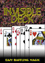 Invisible Deck, Bicycle, Poker