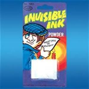 Invisible Ink Powder