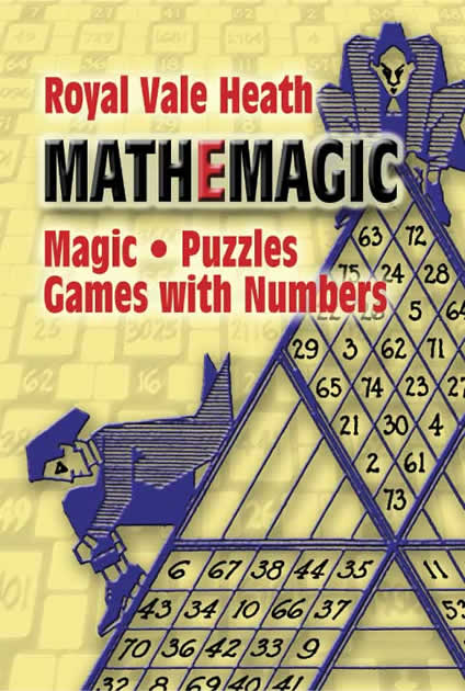 MathEmagic book of puzzles and games with numbers.
