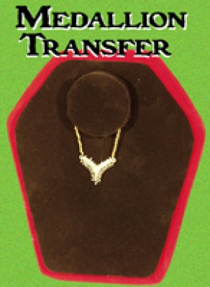 Medallion Transfer moves from one stand to the other! Make It Magic