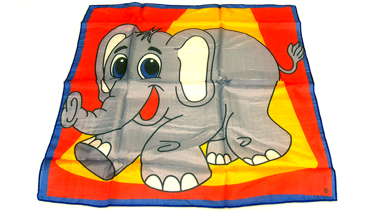 Silk 18 inch Elephant from David Ginn