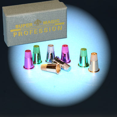 Thimbles Set of 8, Neon - ProGrade