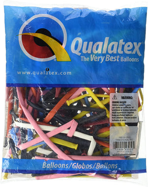 Qualatex 260's are great for balloon characters, decorations, hats, and story-telling props