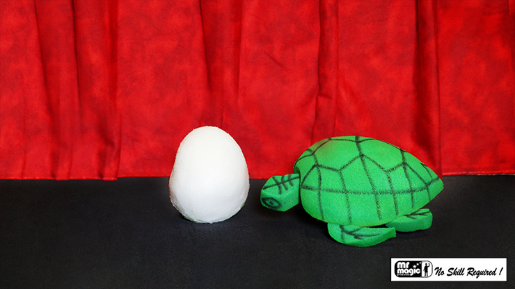 Egg to Tortoise (Sponge) by Mr. Magic