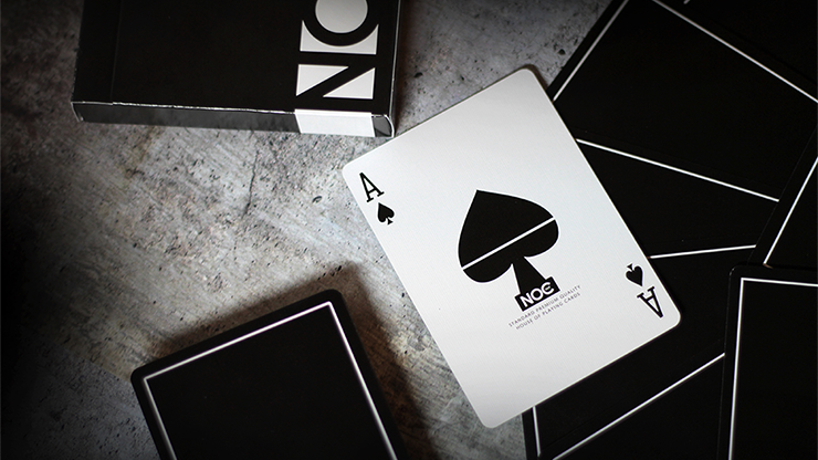 NOC Out: Black Playing Cards