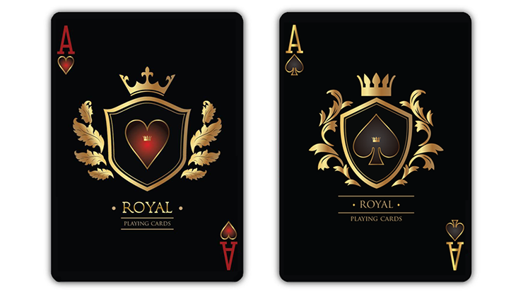 "rd) Limited Edition Product Image Description:  Here's a deck you'll be proud to use. It shows your interest in Royal history, and will make you stand out from the crowd.  ""ROYAL"" Playing Cards is a custom deck of playing cards inspired by the Kings and Queens of XIV -"