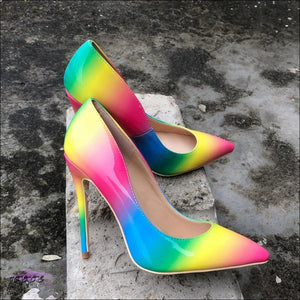 CECE Halo Rainbow Stiletto Sandals