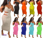 'Flaunt My Fineness' Cut Out Split Bandage Dress