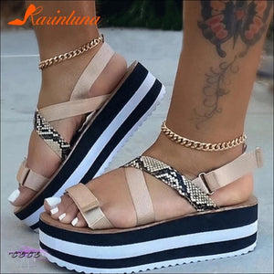 'Stepping Out Sexy' Strap Summer Sandals
