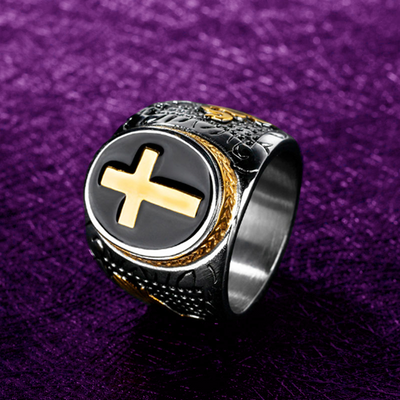 Clergy Cross Ring - Trinity Robes