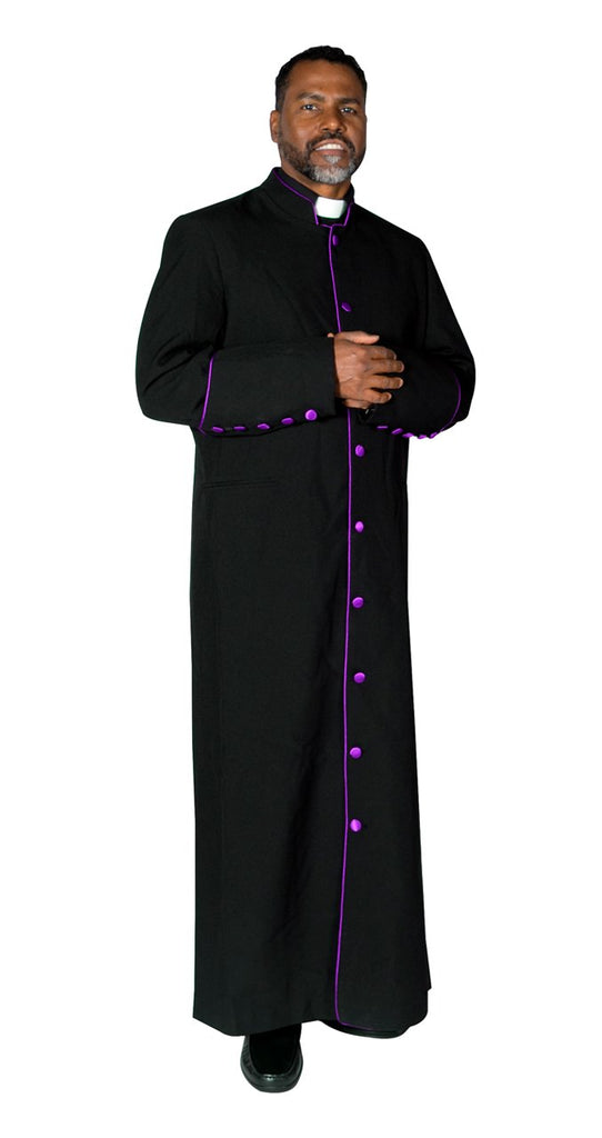 Clergy Cassock Robe Black - Trinity Robes